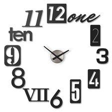 "Numbra 11"" Wall Clock"