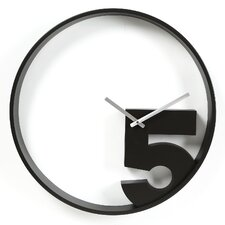 "20.5"" Take 5 Wall Clock"