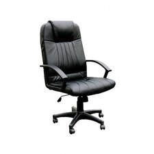 High-Back Leather Harmonic Massage Office Chair
