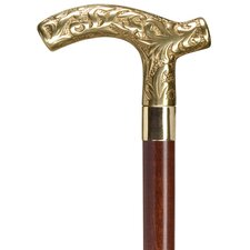 Men's Derby Solid Cast Brass Handle Cane