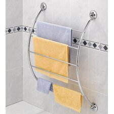 Suction Cup Curved Towel Rack