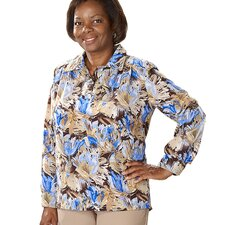 Women's Handicap Clothing Adaptive Blouse