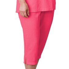 Women's Adaptive Open Back Capri Pants