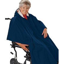 Unisex Wheelchair / Poncho Lined Cape
