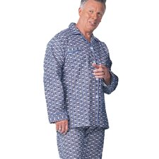 Mens Flannelette Pajamas