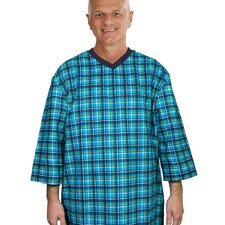 Mens Flannel Patient Gown