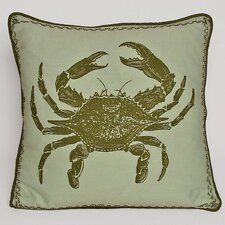 <strong>Kevin O'Brien Studio</strong> Crab Decorative Pillow