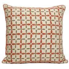 Petals Embellished Linen Pillow