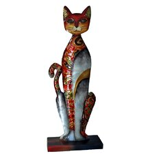 <strong>Eangee Home Design</strong> Standing Cat Statue