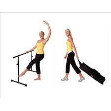 Portable Stretch Bar with Wheeled Travel Case