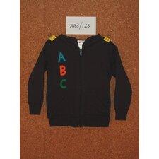 ABC/123 Hoodie in Navy