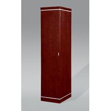 Belvedere Left Hand Facing Single Door Wardrobe