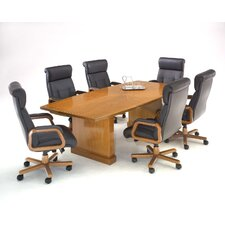 Belmont 12' Boat Shaped Conference Table