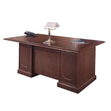 "<strong>DMI Office Furniture</strong> Andover 72"" W Executive Desk"