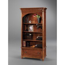 "Antigua 78"" H Bookcase with Drawer"
