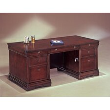 "<strong>DMI Office Furniture</strong> Rue De Lyon 66"" W Executive Desk"