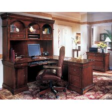 Rue De Lyon L-Shape Executive Desk Office Suite