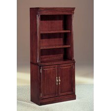 "Keswick 72"" H Bookcase with Storage Cabinet"
