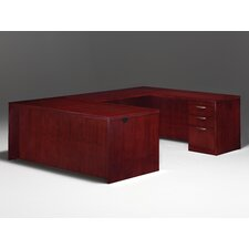 Summit Reed U-Shape Executive Desk