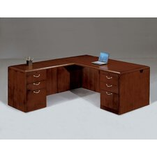 Summit Cope Right L-Shape Executive Desk (Flat Pack)