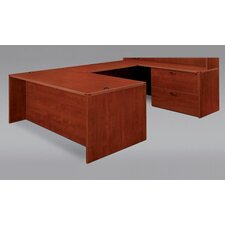 Fairplex Right/Left Executive Lateral File Desk Office Suite