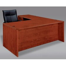 Fairplex Right/Left Executive L Desk with Grommet Holes