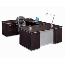 Pimlico Personal File U-Shape Executive Desk