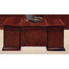 <strong>DMI Office Furniture</strong> Del Mar Executive Bow Front Desk