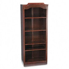"DMi® Governor's Series 74"" Open Bookcase"