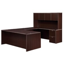 "<strong>DMI Office Furniture</strong> Fairplex Right/Left ""U"" Executive Desk"