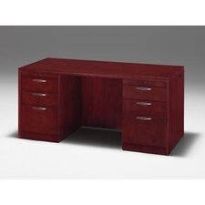 "<strong>DMI Office Furniture</strong> Summit Reed 66"" W Executive Desk"