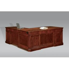 "<strong>DMI Office Furniture</strong> Arlington Executive Right Single 30"" H x 51"" W Desk Return"