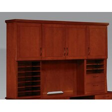 "Belmont 50"" H x 74.5"" W Desk Hutch with Organizers"