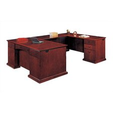 Del Mar Executive U-Shape Desk with Right Return