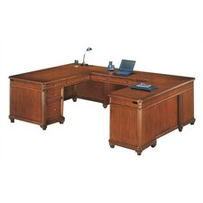<strong>DMI Office Furniture</strong> Antigua Executive U-Shape Desk with Right Return