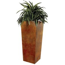 Home Tapered Square Corten Steel Planter