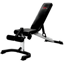 Flex Adjustable Utility Bench with Foot Hold-Down