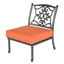 <strong>Meadow Decor</strong> Kingston Deep Seating Side Chair with Cushions