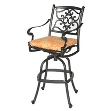 <strong>Meadow Decor</strong> Kingston Barstool with Cushion
