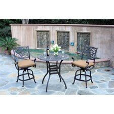 Kingston 3 Piece Dining Set