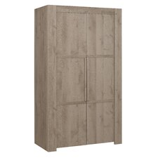Timber 2 Door Wardrobe