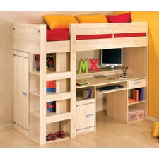 Skipper High Sleeper Bed with Desk