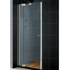 "Elegance 35 .75"" x 37 .75"" Pivot Adjustable Shower Door"