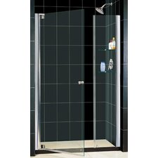 "Elegance 25.25"" - 61.75"" W x 72"" H Pivot Adjustable Shower Door"