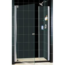 "Elegance 49 .25"" x 51 .25"" Pivot Adjustable Shower Door"