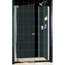 "Elegance 52 .75"" x 54 .75"" Pivot Adjustable Shower Door"