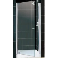 "Elegance 30 .50"" x 32 .50"" Pivot Adjustable Shower Door"