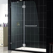 <strong>Dreamline</strong> Aqualux Hinged Shower Door