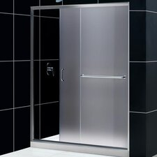"Infinity-Z 44"" - 60"" W x 72"" H Sliding Shower Door"