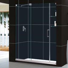 "Mirage 60"" W x 74.75"" H  Frameless Shower Door and SlimLine Shower Base"